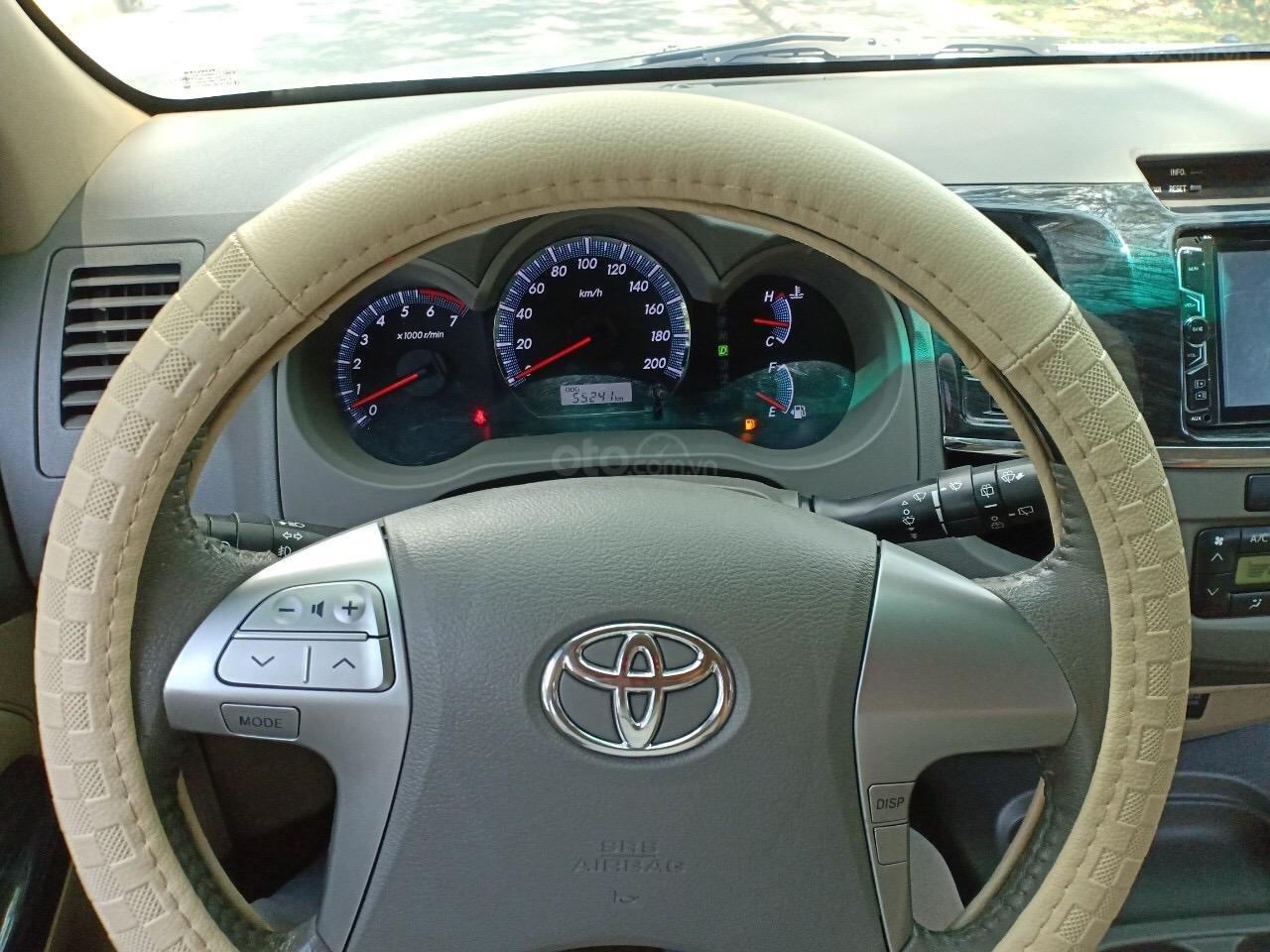 Bán Toyota Fortuner 2.7V năm 2013, xe nhà đi sử dụng kĩ, bán giá 665 triệu-7