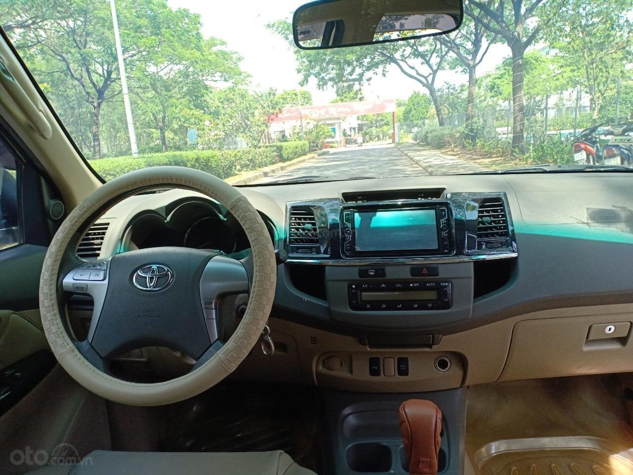 Bán Toyota Fortuner 2.7V năm 2013, xe nhà đi sử dụng kĩ, bán giá 665 triệu-6