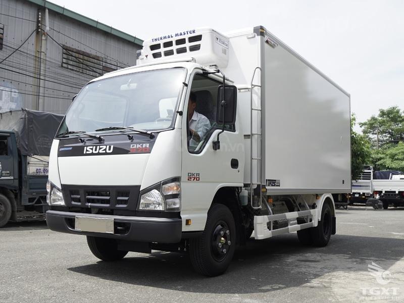 Bán Isuzu QKR 77HE4 đời 2019, màu trắng, nhập khẩu-0
