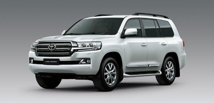 Toyota Land Cruiser 2019 có giá bao nhiêu?