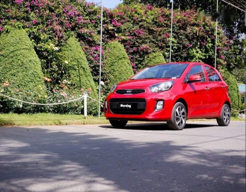 Cần bán xe Kia Morning đời 2019, màu đỏ-1