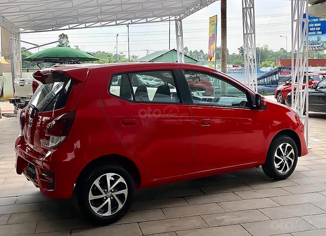 Bán Toyota Wigo G đời 2018, màu đỏ, xe nhập (4)