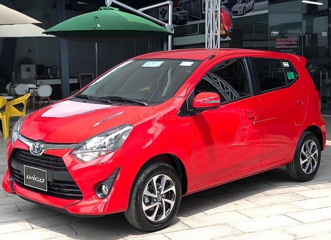 Bán Toyota Wigo G đời 2018, màu đỏ, xe nhập (1)