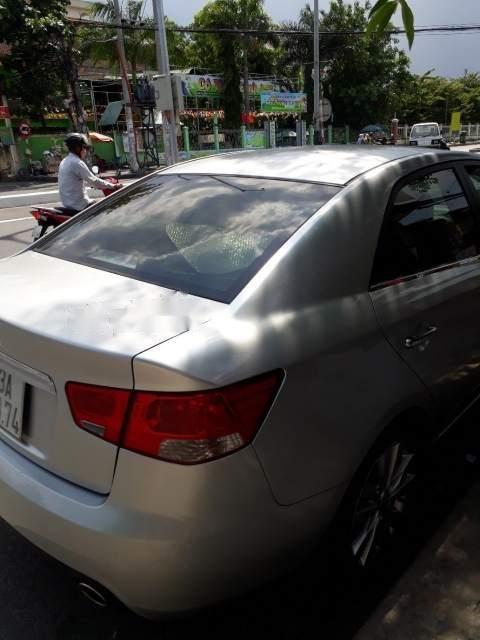 Cần bán lại xe Kia Cerato 2009, màu bạc, nhập khẩu-2