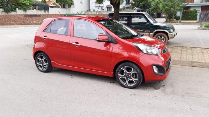 Cần bán Kia Morning năm 2015, màu đỏ chính chủ, giá 232tr-3