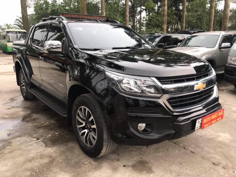 Bán xe Chevrolet Colorado High country, Đời cuối 2017,máy dầu 2.8 , 2 cầu, số tự động, màu đen,-2