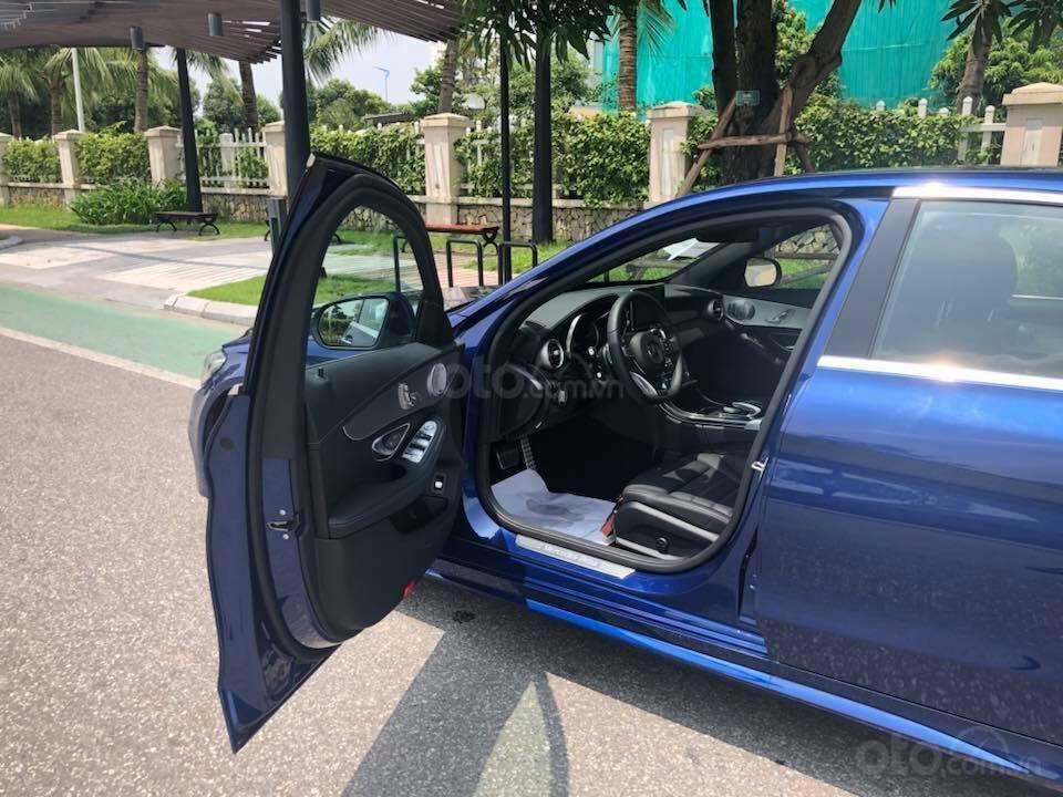 Bán Mercedes C300 sx 2018 số tự động 9 cấp, màu xanh đại dương-4