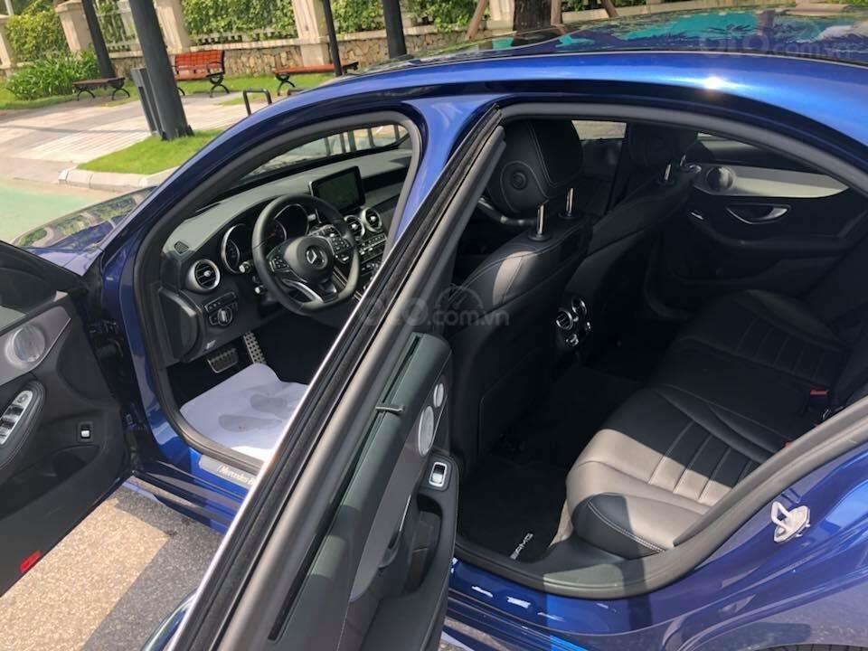 Bán Mercedes C300 sx 2018 số tự động 9 cấp, màu xanh đại dương-5