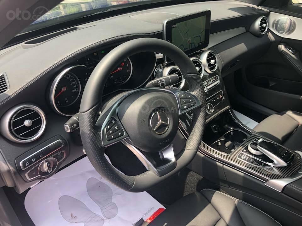 Bán Mercedes C300 sx 2018 số tự động 9 cấp, màu xanh đại dương-6