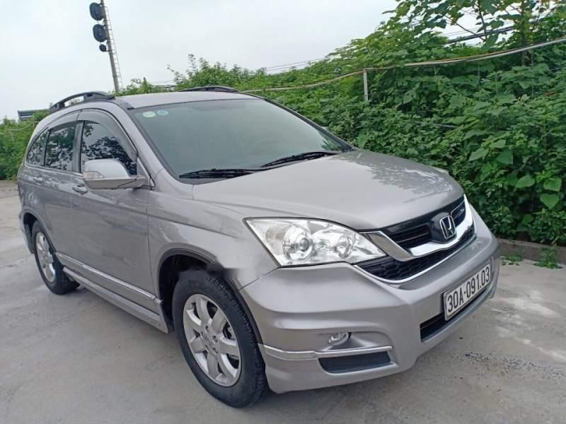 Chính chủ bán xe Honda CR V năm 2009, màu xám-2