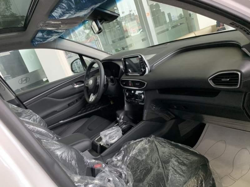 Bán xe Hyundai Santa Fe sản xuất 2019, màu trắng-4