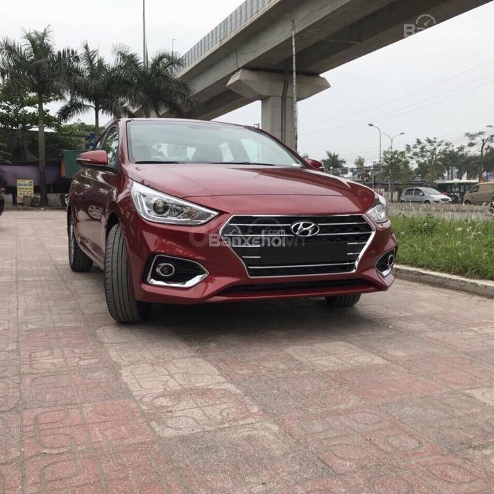 Hyundai Hà Đông Hà Nội mua xe Hyundai Accent 2019 trọn gói chỉ với 125tr, xe đủ màu giao ngay trong ngày-LH 0981476777-3