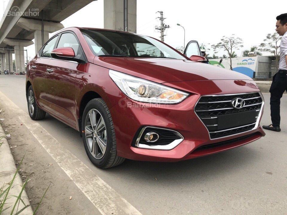 Hyundai Hà Đông Hà Nội mua xe Hyundai Accent 2019 trọn gói chỉ với 125tr, xe đủ màu giao ngay trong ngày-LH 0981476777-8