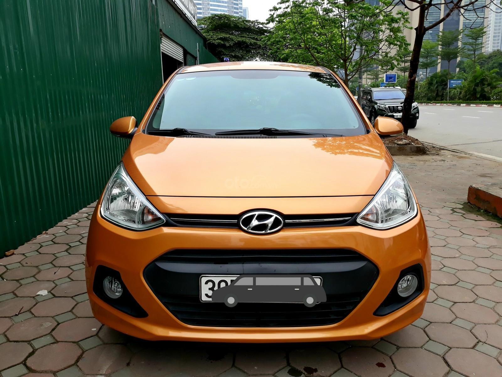 Hyundai Grand i10 1.0 AT đời 2016, xe nhập-0