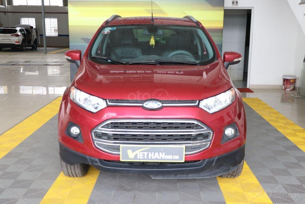 Bán Ford EcoSport 1.4AT sản xuất năm 2017, màu đỏ-1