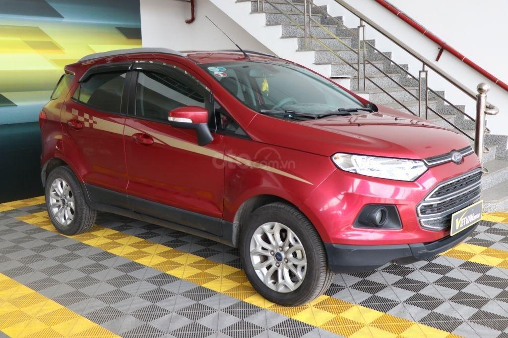Bán Ford EcoSport 1.4AT sản xuất năm 2017, màu đỏ-2