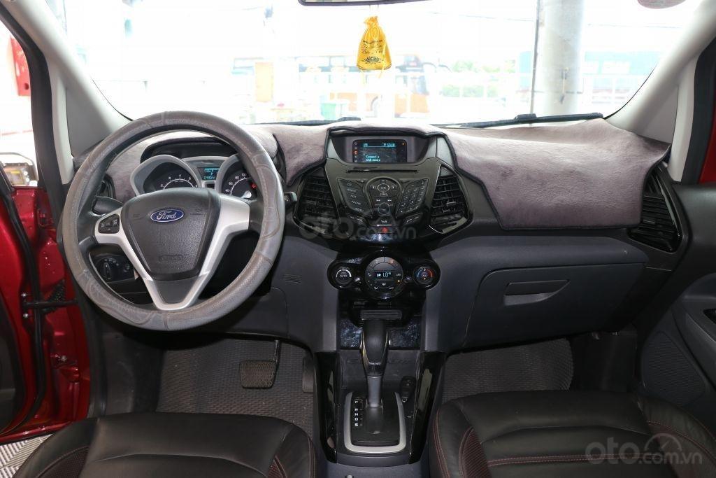 Bán Ford EcoSport 1.4AT sản xuất năm 2017, màu đỏ-8