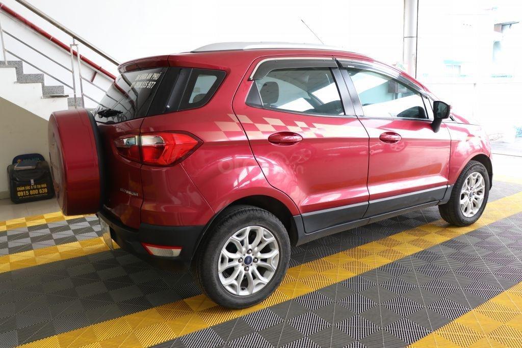 Bán Ford EcoSport 1.4AT sản xuất năm 2017, màu đỏ-4