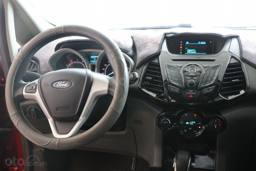 Bán Ford EcoSport 1.4AT sản xuất năm 2017, màu đỏ-10