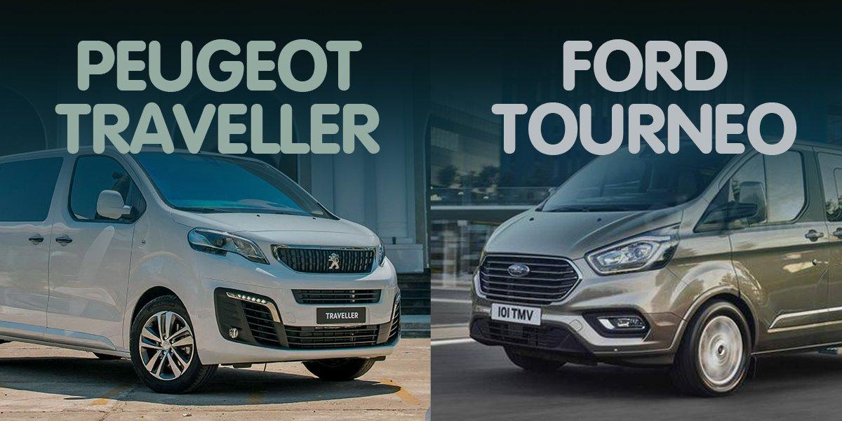 """So sánh xe Peugeot Traveller 2019 và Ford Tourneo 2019: Đại chiến MPV """"tân binh""""."""