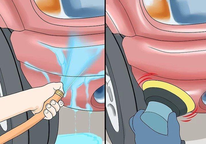 Cách xử lý các vết gỉ sét trên xe ô tô 10