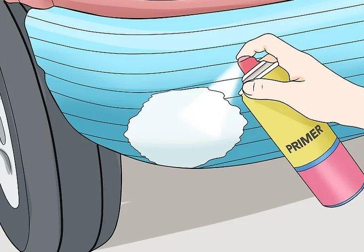 Cách xử lý các vết gỉ sét trên xe ô tô 6