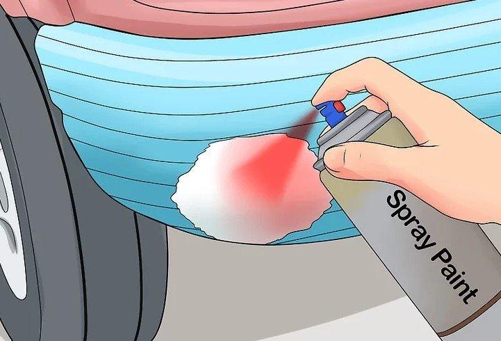 Cách xử lý các vết gỉ sét trên xe ô tô 8