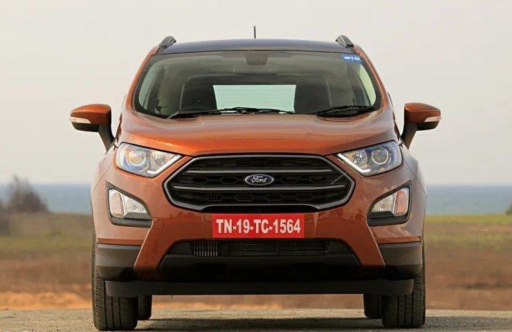 So sánh xe Hyundai Venue 2020 và Ford EcoSport 2019 - đầu xe 2