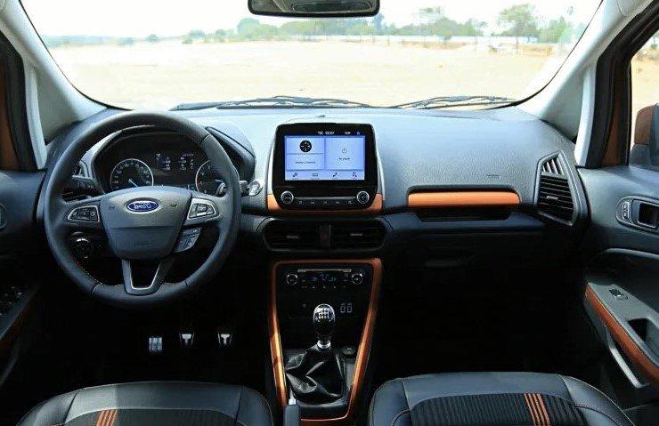 So sánh xe Hyundai Venue 2020 và Ford EcoSport 2019 - bảng táp-lô 2
