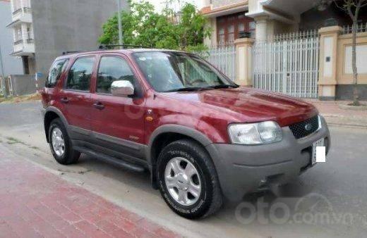 Bán xe Ford Escape mode 2002, giá chỉ 180tr, màu đỏ, nhập khẩu nguyên chiếc, 0931920739-1