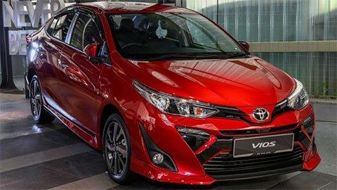 Toyota Vios 2019 hiện tại giá bao nhiêu?
