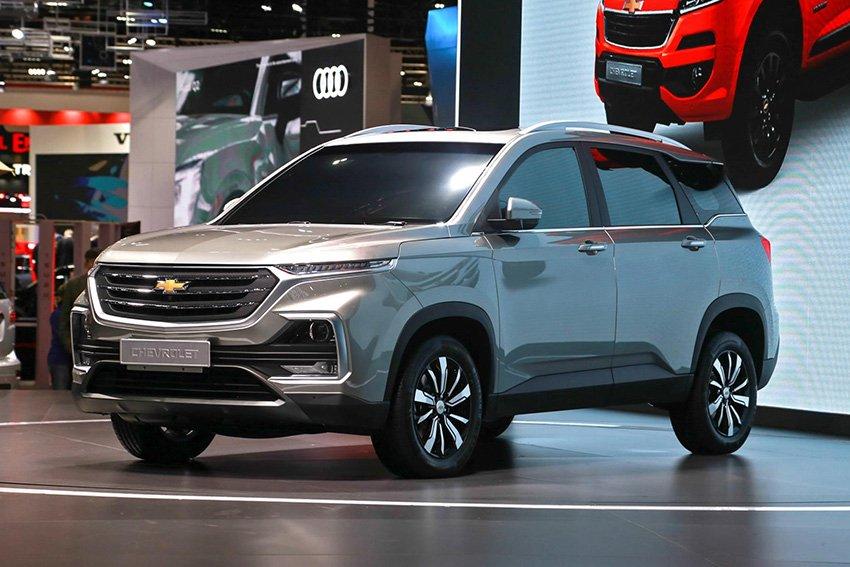 Chevrolet Captiva 2019 đã ra mắt tại Thái Lan