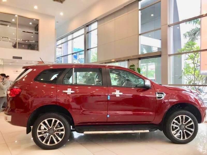 Bán Ford Everest đời 2019, màu đỏ, nhập khẩu nguyên chiếc-1