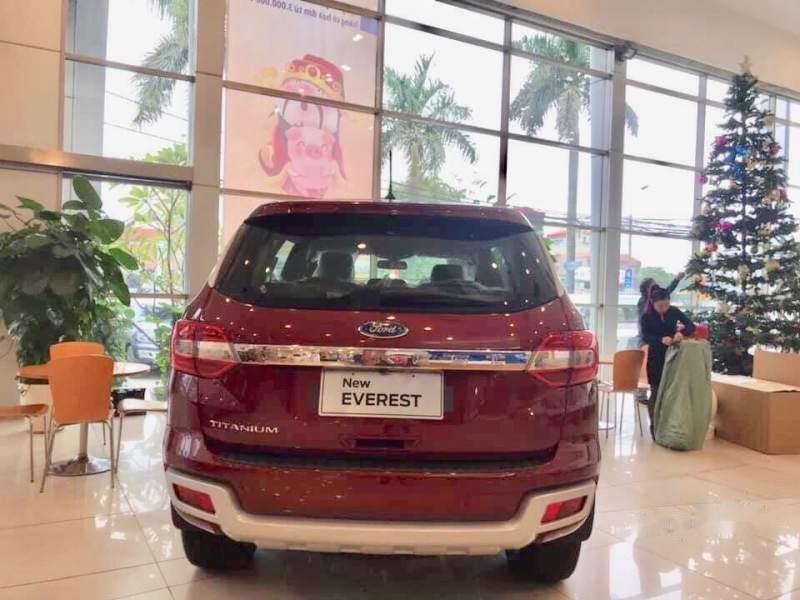 Bán Ford Everest đời 2019, màu đỏ, nhập khẩu nguyên chiếc-3
