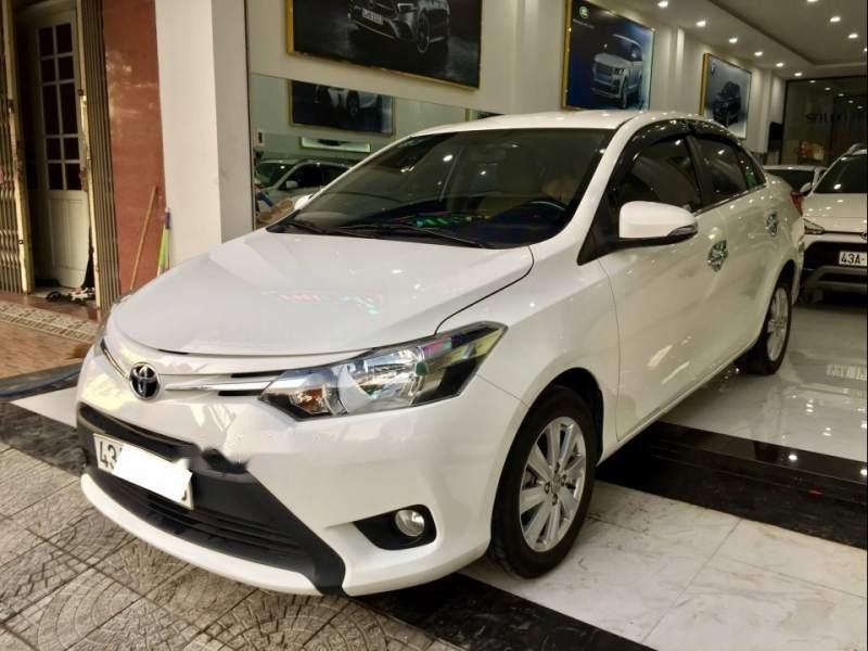 Bán Toyota Vios E năm sản xuất 2017, màu trắng như mới-0