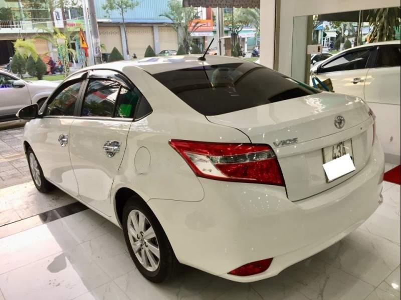 Bán Toyota Vios E năm sản xuất 2017, màu trắng như mới-4