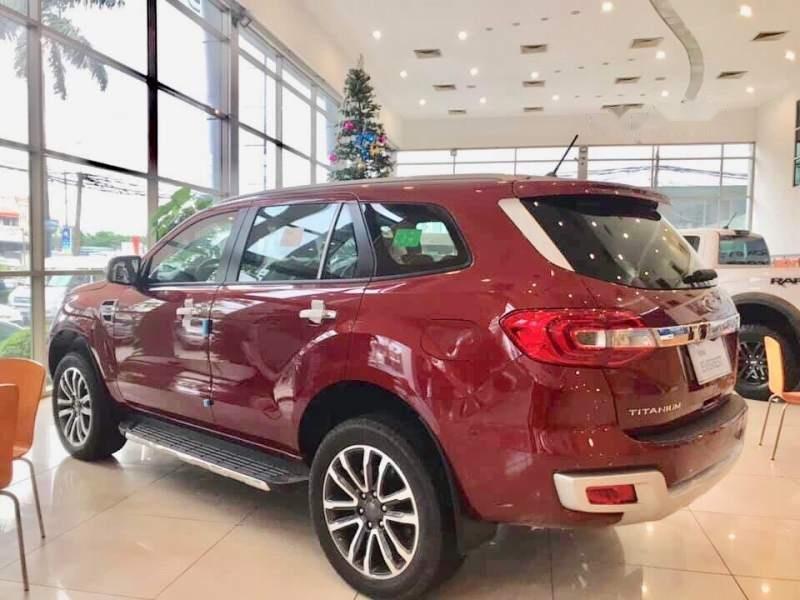 Bán Ford Everest đời 2019, màu đỏ, nhập khẩu nguyên chiếc-2