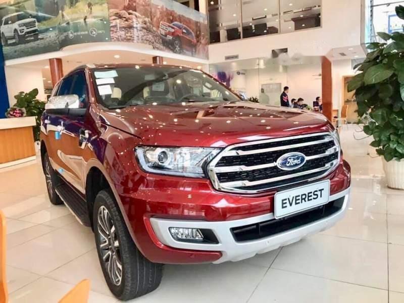 Bán Ford Everest đời 2019, màu đỏ, nhập khẩu nguyên chiếc-0