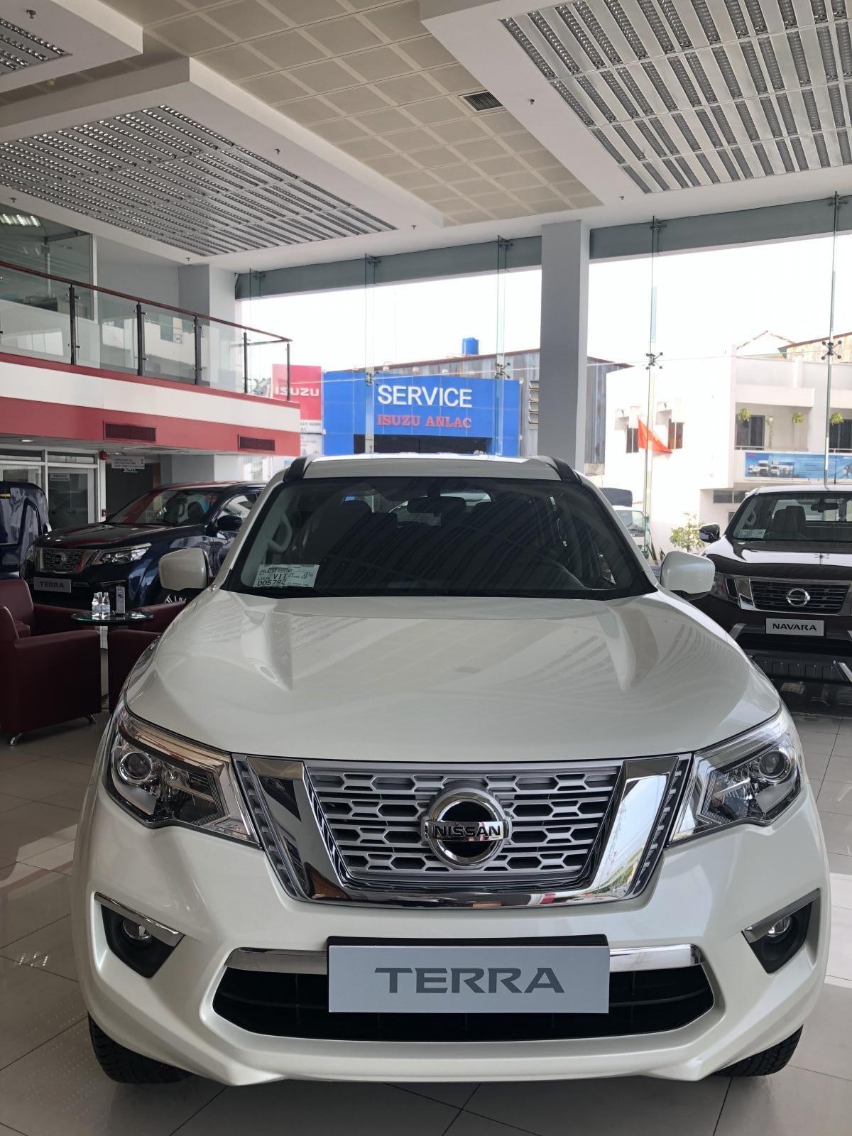 Cần bán Nissan Terra S sản xuất 2019, CTKM hấp dẫn, giao xe ngày, LH 0964218528-0