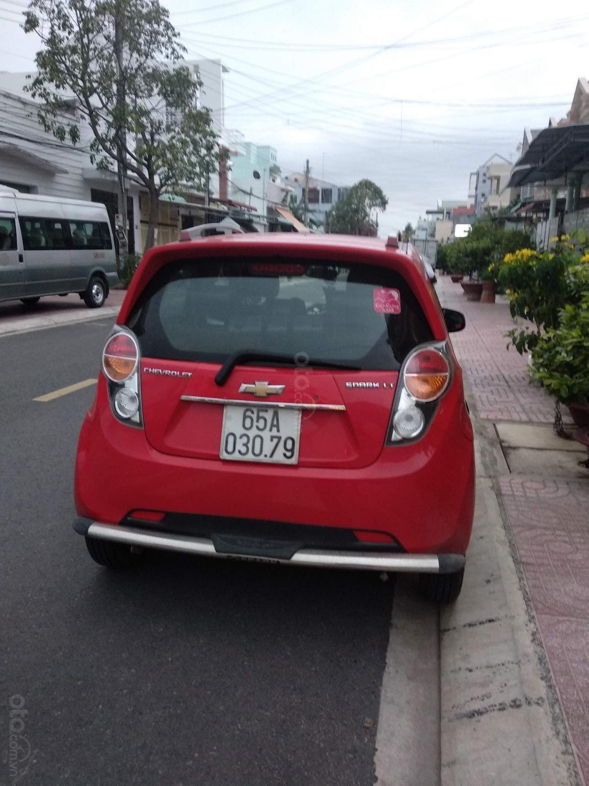 Bán ô tô Chevrolet Spark 1.2 LT năm sản xuất 2013, màu đỏ, nhập khẩu, xe gia đình 230tr-3