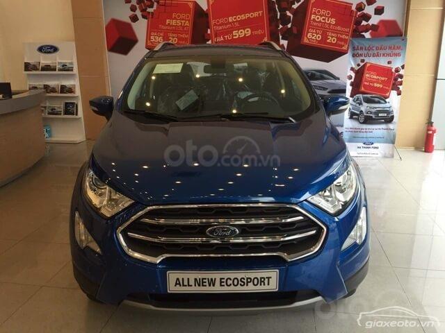 Cần bán xe Ford EcoSport đời 2019, màu xanh lam-1