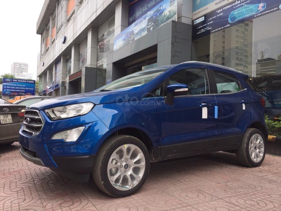 Cần bán xe Ford EcoSport đời 2019, màu xanh lam-0