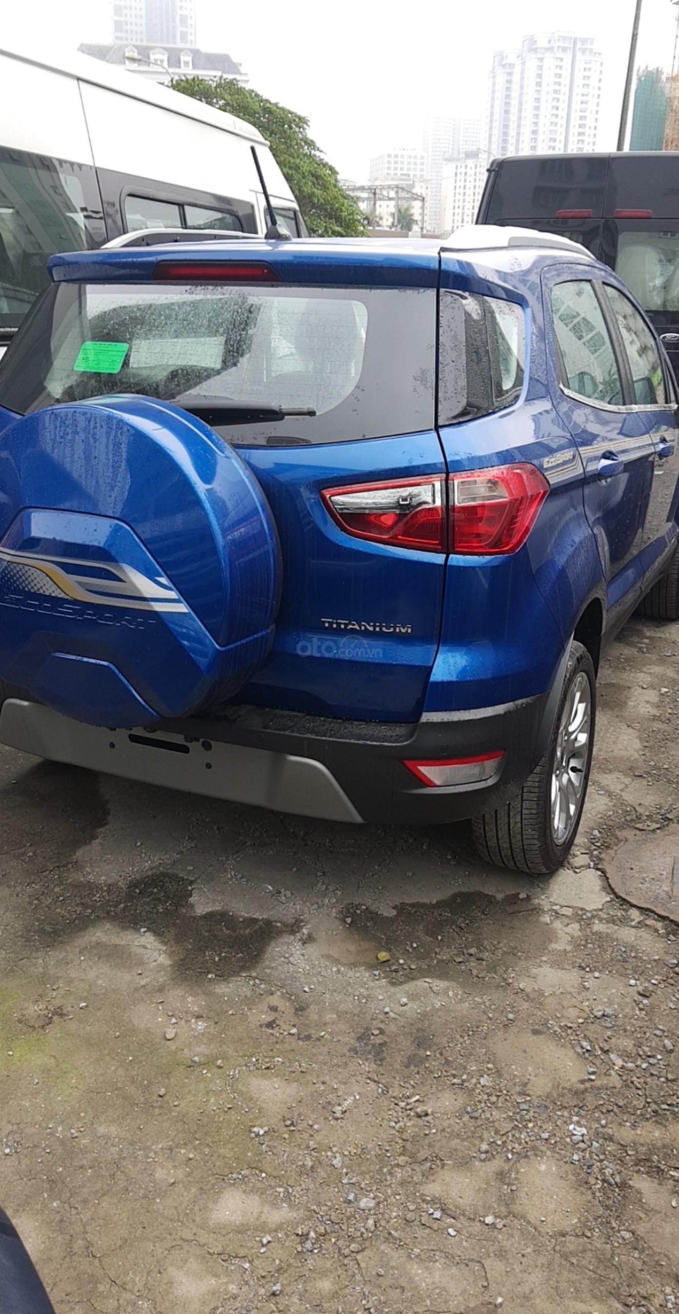 Cần bán xe Ford EcoSport đời 2019, màu xanh lam-3