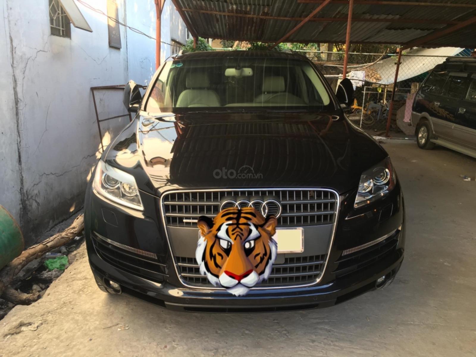 Mình cần bán chiếc Audi Q7 model 2008, màu đen, bản full option, nhập khẩu Đức-0