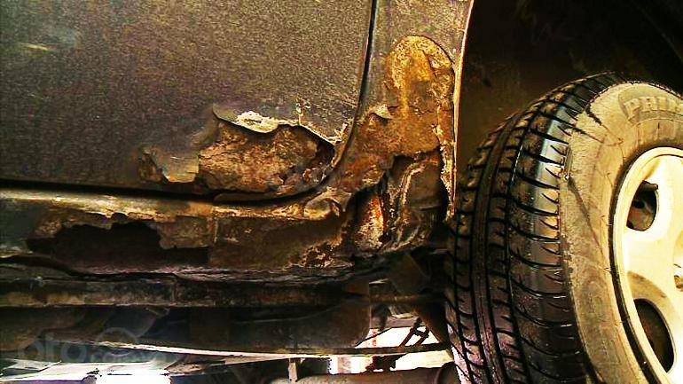 Tác hại của nước mưa đối với ô tô và phương án đối phó: Hư hỏng bộ phận, gầm xe