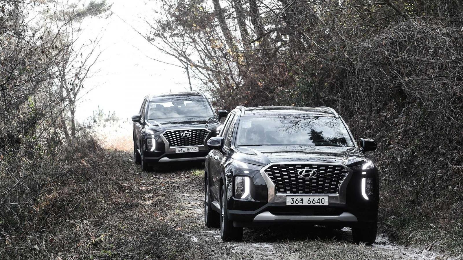Ảnh chi tiết Hyundai Palisade sắp về Việt Nam bản dành cho thị trường Hàn a6