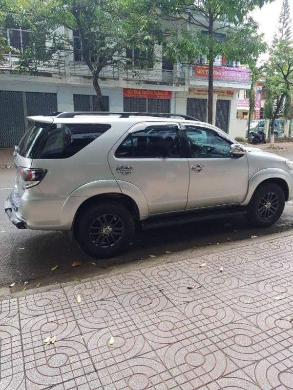 Bán Toyota Fortuner đời 2016, màu bạc, nhập khẩu-1