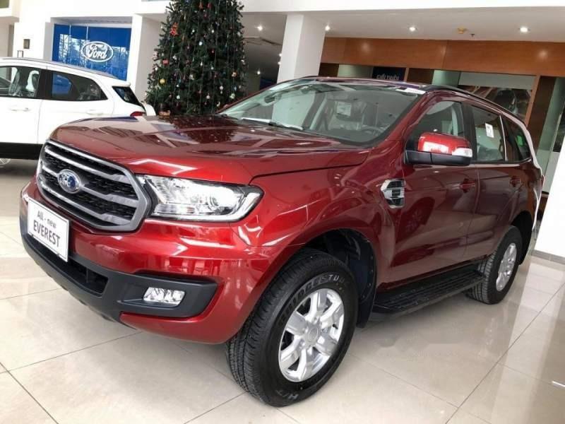 Cần bán xe Ford Everest năm 2019, màu đỏ, nhập khẩu, mới 100%-1