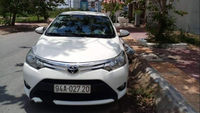 Cần bán gấp Toyota Vios E đời 2017, màu trắng, nhập khẩu xe gia đình-3