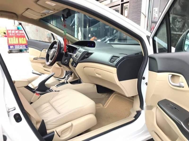 Cần bán gấp Honda Civic năm sản xuất 2014, màu trắng, nhập khẩu giá cạnh tranh-3
